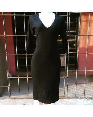 Black Polo Dress Size 12,14 LAGOS